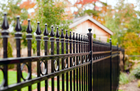 Wrought iron fence dallas
