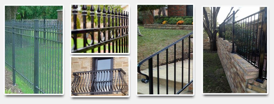 Collages-iron-fence
